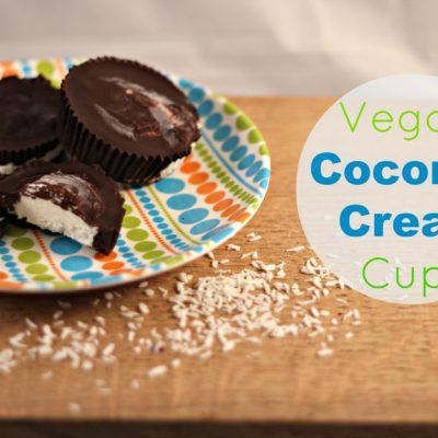 Vegan Coconut Cream Cups