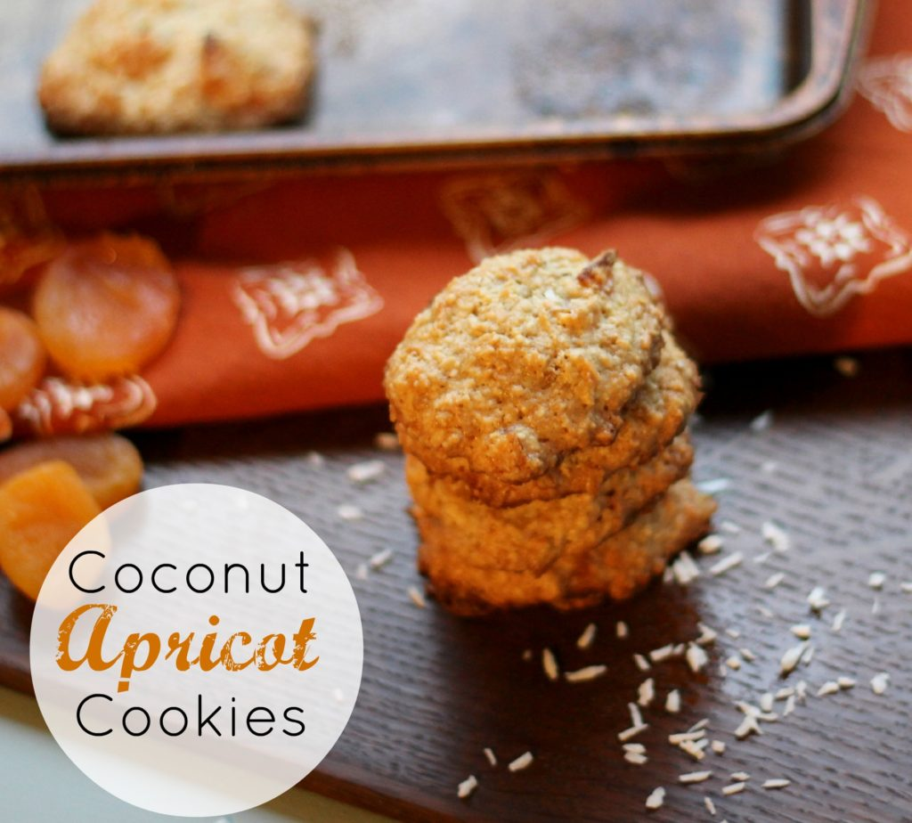 Coconut Apricot Cookies