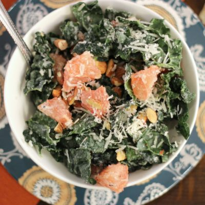 Grapefruit and Kale Detox Salad