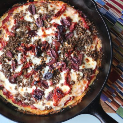 Recipe Redux: Mediterranean-Inspired Pizza