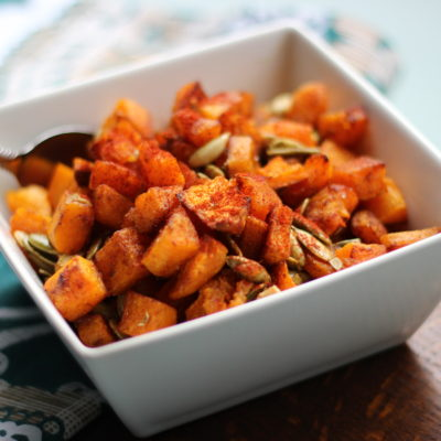 Roasted Butternut Squash with Pepitas