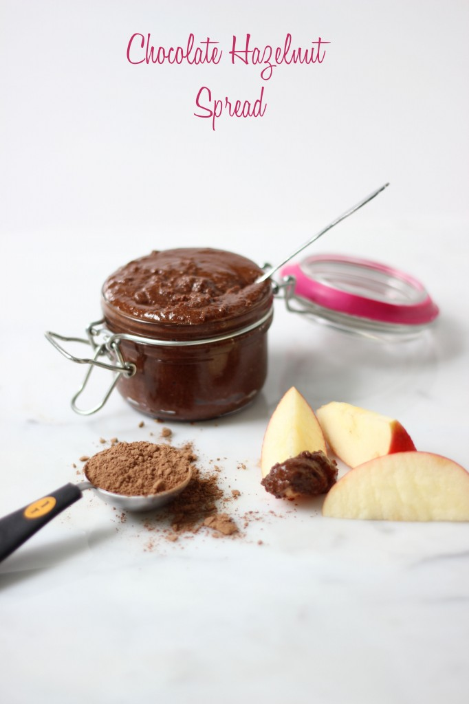 Vegan Chocolate Hazelnut Spread