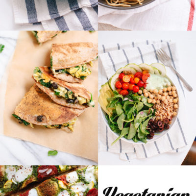 Vegetarian Meal Plan with Cookie + Kate