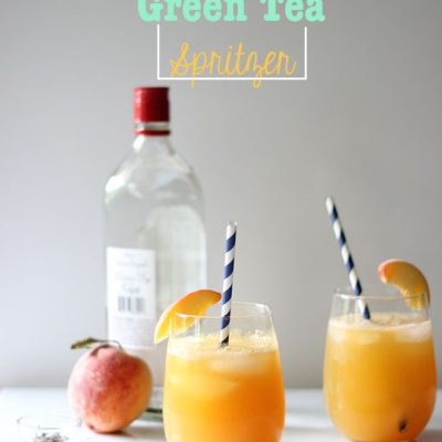 Peach Green Tea Spritzer