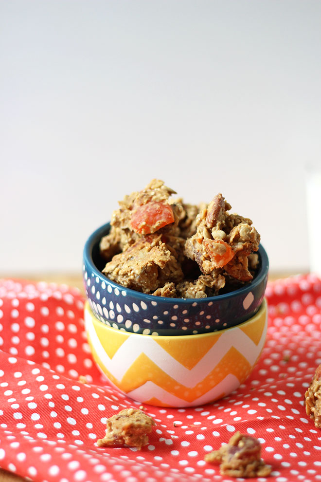 Tropical Granola Clusters | Dietitian Debbie Dishes