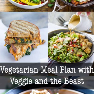 Vegetarian Meal Plan with Veggie and the Beast