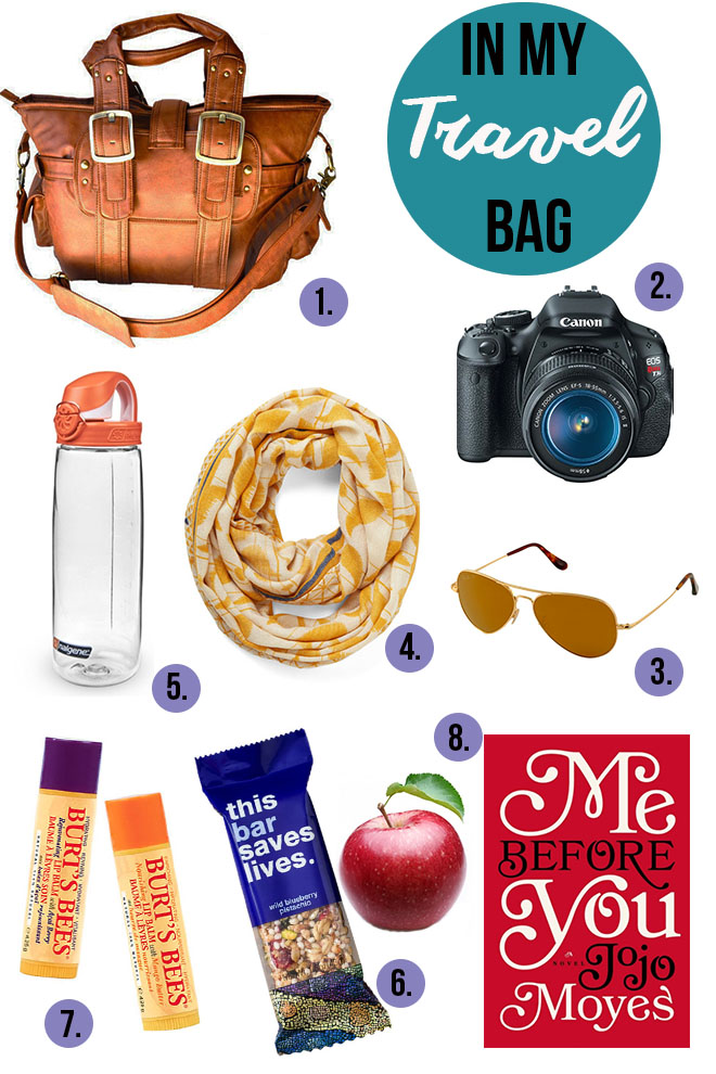 Healthy Travel: What's in my Bag? | Dietitian Debbie Dishes
