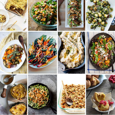 Last Minute Vegetarian Thanksgiving Dishes