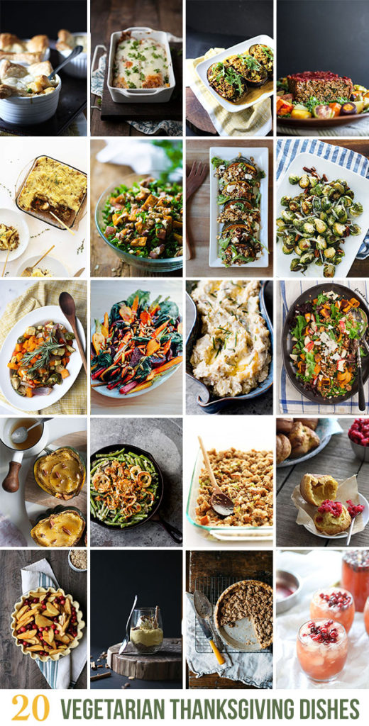 20 Vegetarian Thanksgiving Dishes | Dietitian Debbie