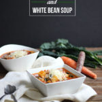 Hearty Vegetable and White Bean Soup | Dietitian Debbie