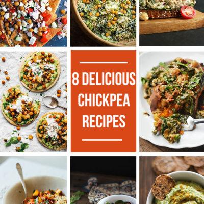 8 Delicious Chickpea Recipes