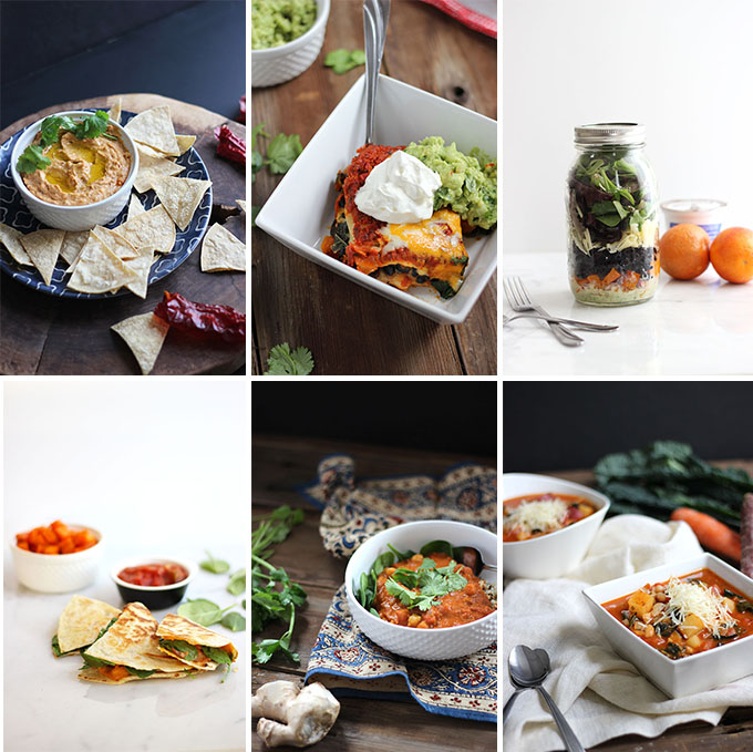 6 Easy #Vegetarian Bean Dishes