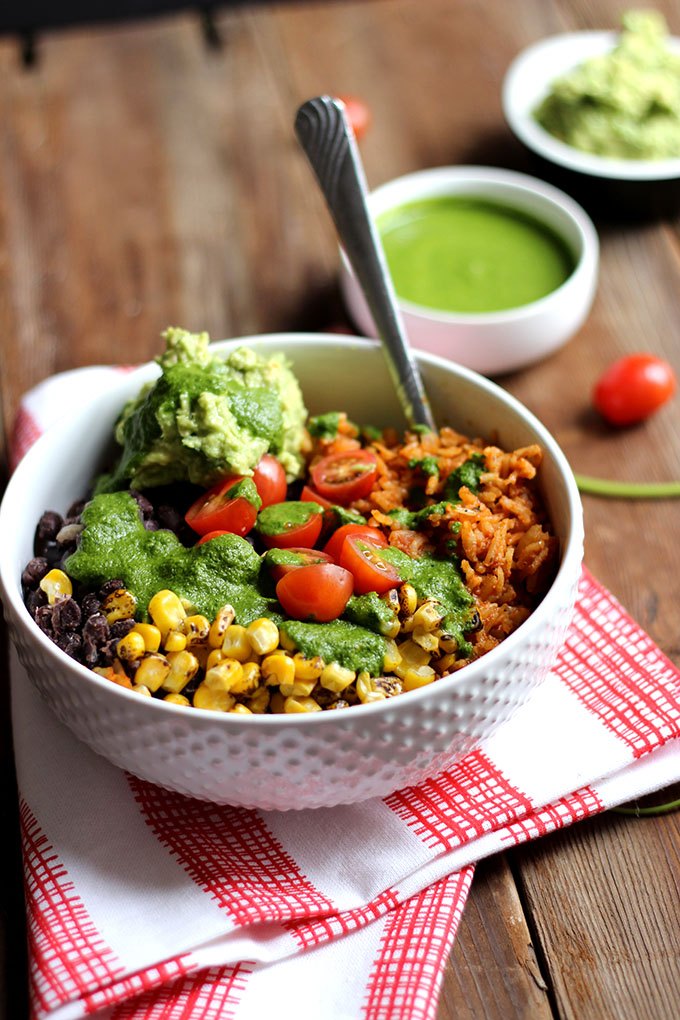 Vegan Burrito Bowl | Dietitian Debbie Dishes