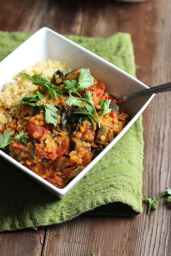 Vegan Madras Curry | Dietitian Debbie Dishes