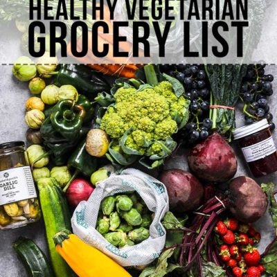 Healthy Vegetarian Grocery List