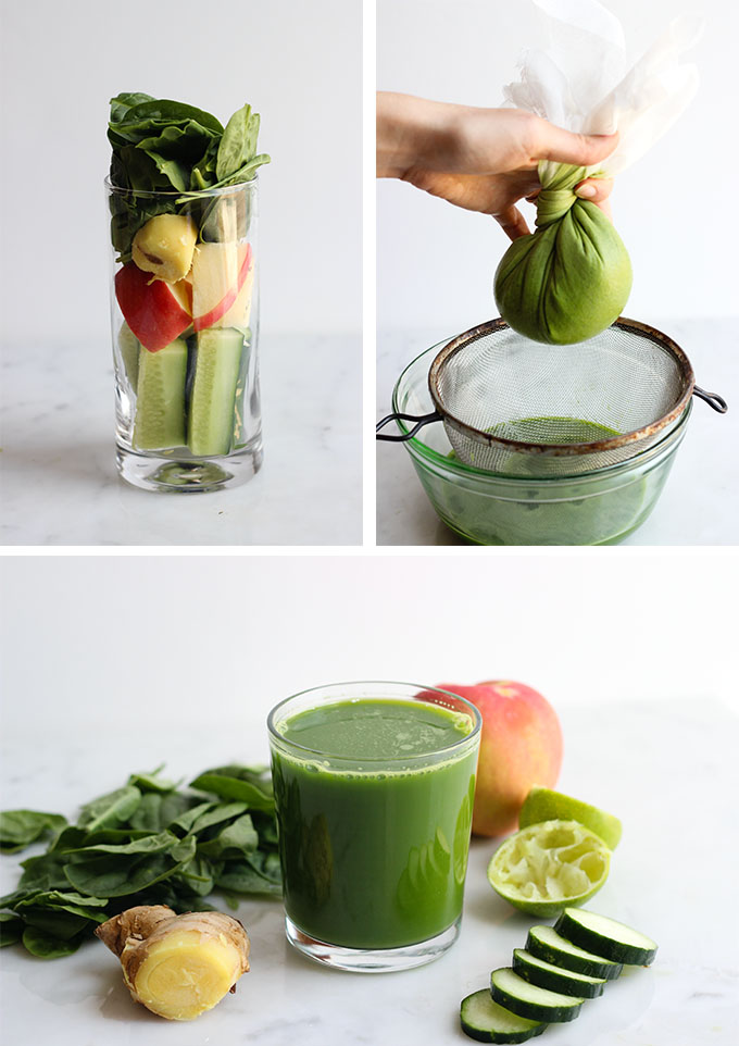 Ginger Zinger Green Juice Dietitian Debbie Dishes