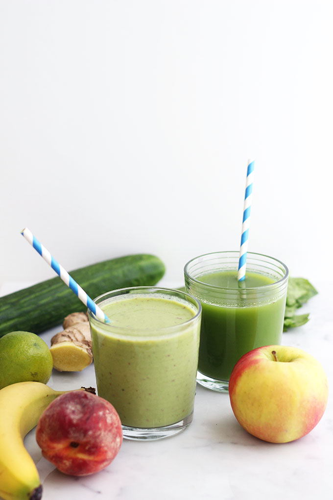 Juices vs. Smoothies | Dietitian Debbie Dishes