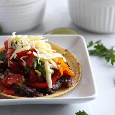 Vegetarian Grilled Fajitas