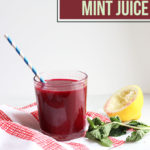 Beet Carrot and Mint Juice