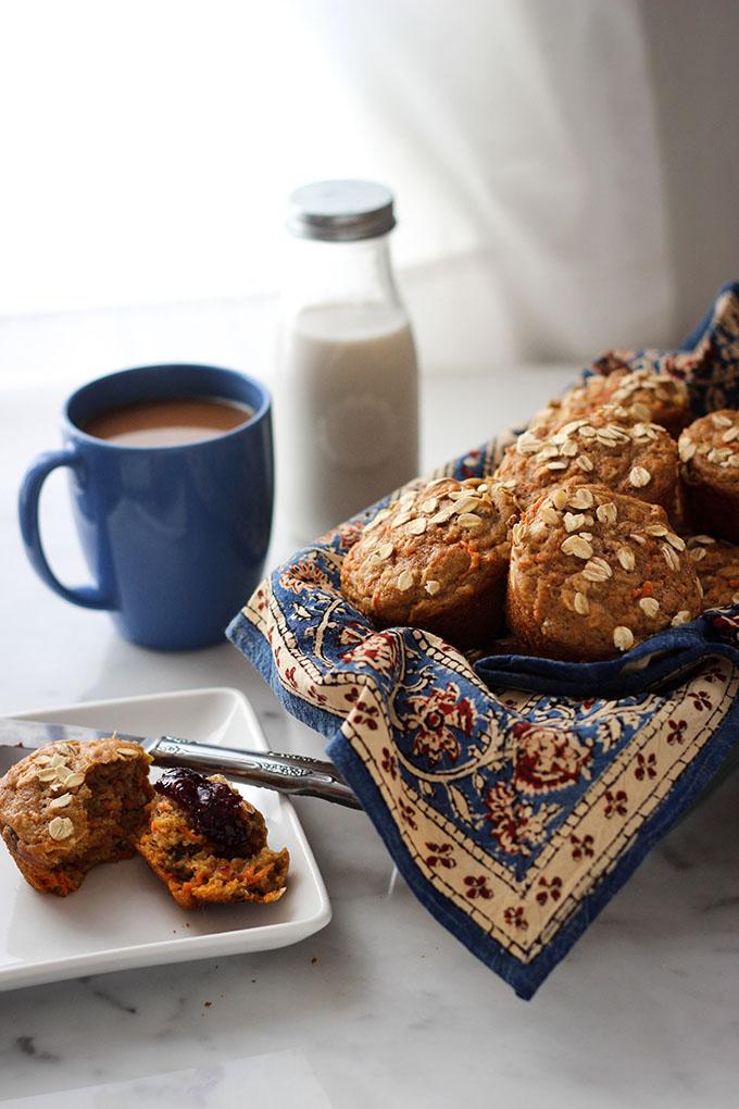 Gluten Free Maple Morning Glory Muffins