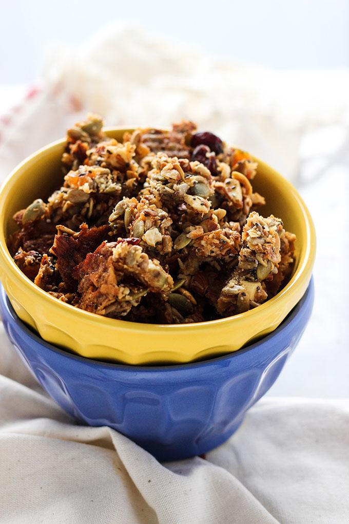 Grain Free Granola Clusters 2