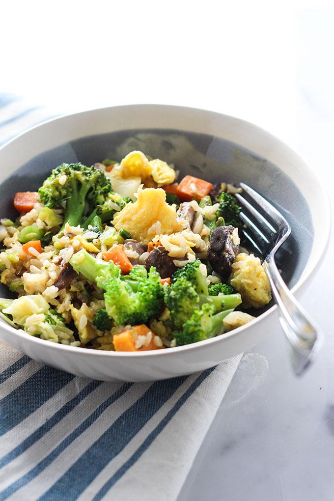 Kitchfix Mushroom and Broccoli Fried Rice