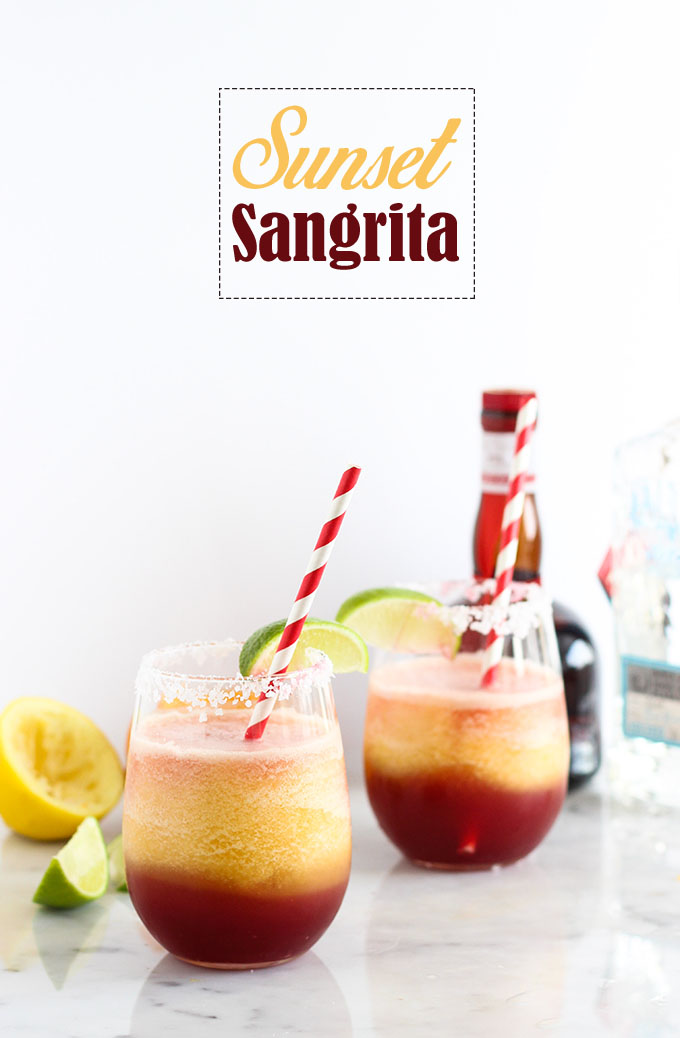 Sunset Sangrita Cocktail