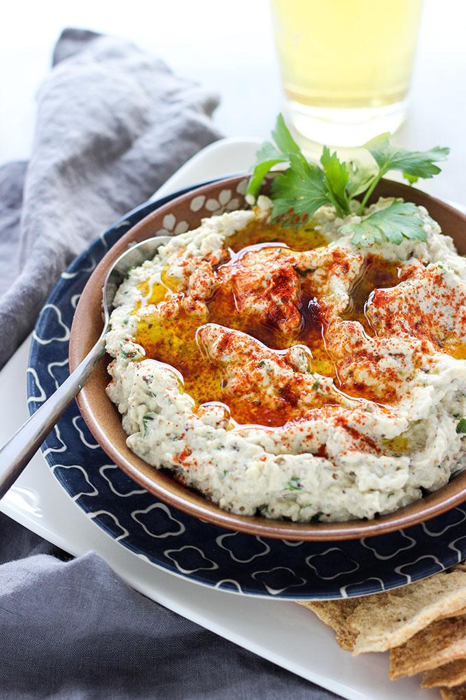 Grilled Baba Ganosh | Vegan