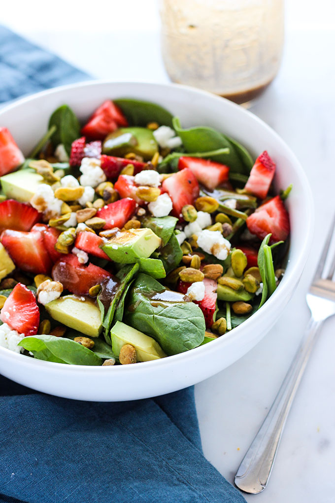 Strawberry Avocado Salad 2