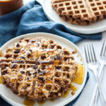 Vegan Chocolate PB Waffles 2