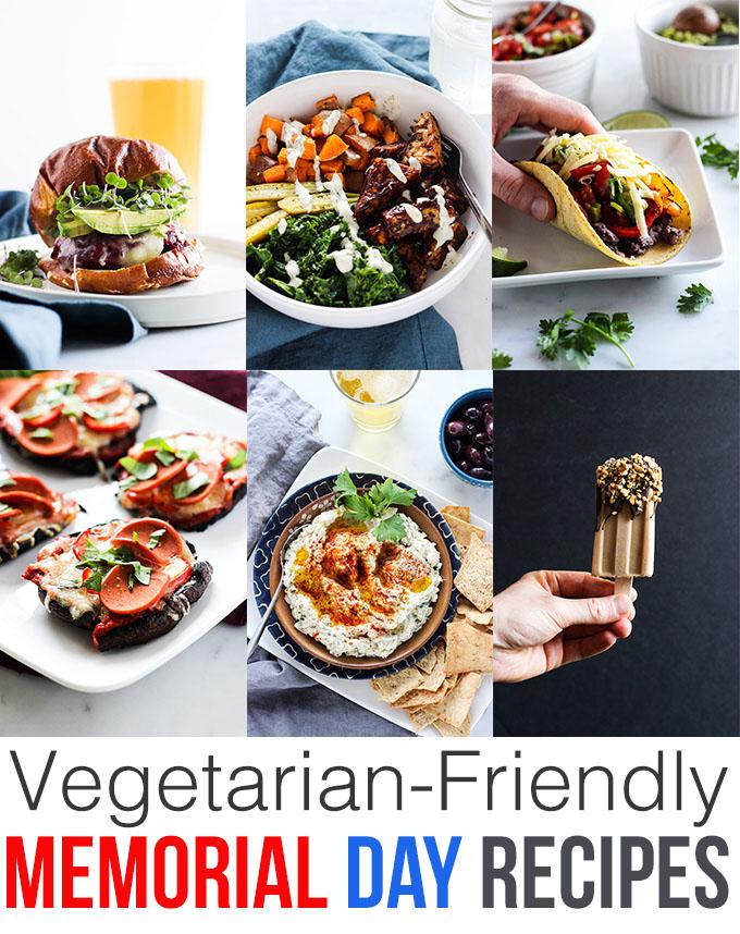 Vegetarian Friendly Memorial Day Recipes