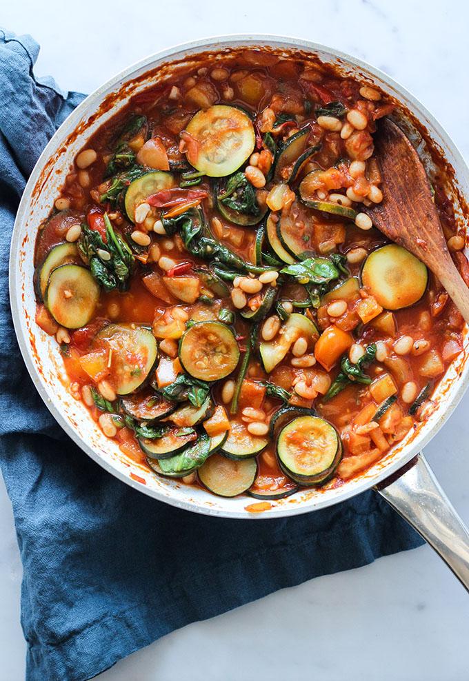 Summer Harvest Vegan Pasta
