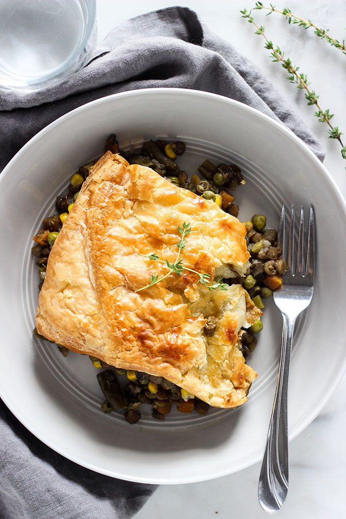 Vegetarian Lentil Pot Pie