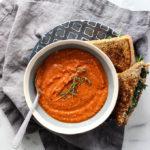 Tomato White Bean Soup | Vegan, Vegetarian