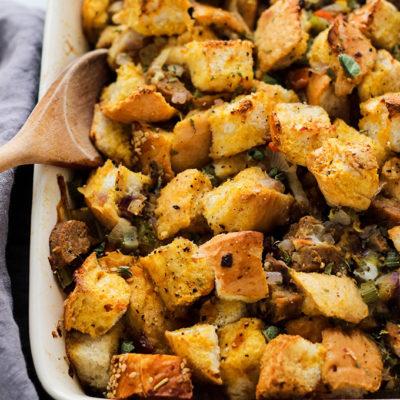 Vegetarian Sausage Stuffing