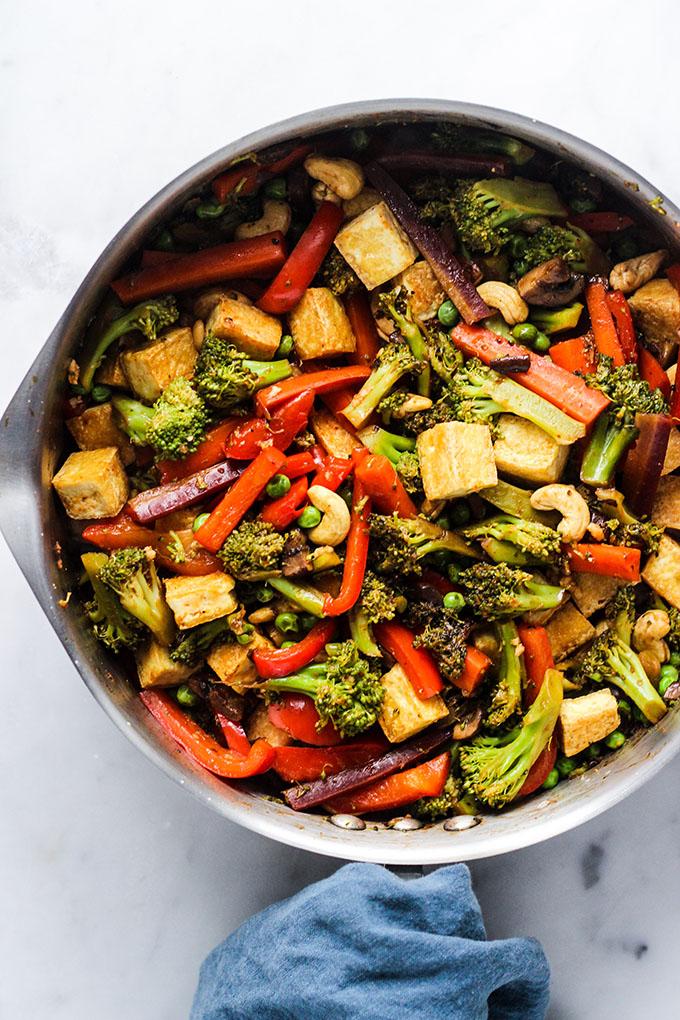 Tofu Vegetable Stir Fry 4