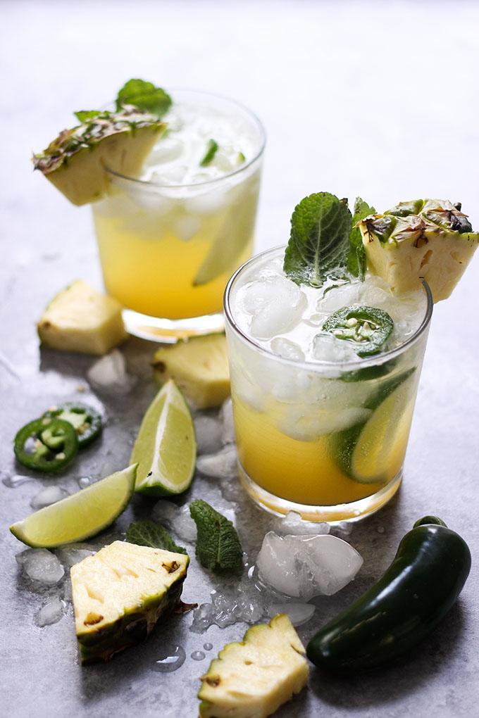 Pineapple Jalapeno Mojito