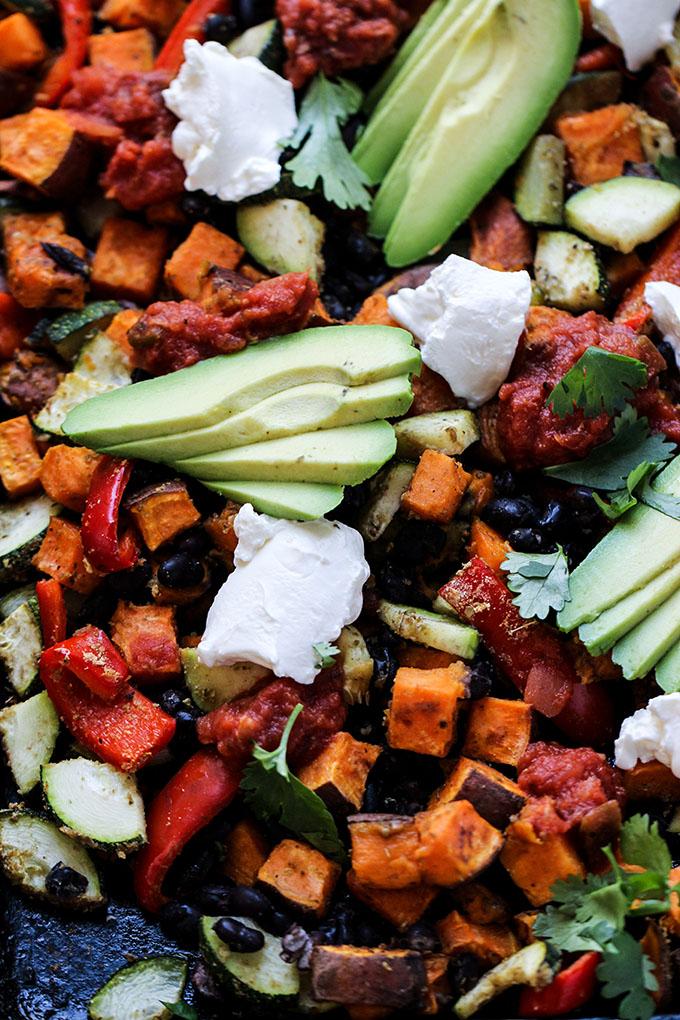 Southwest Sheet Pan Dinner | Vegan, Vegetarian, Easy