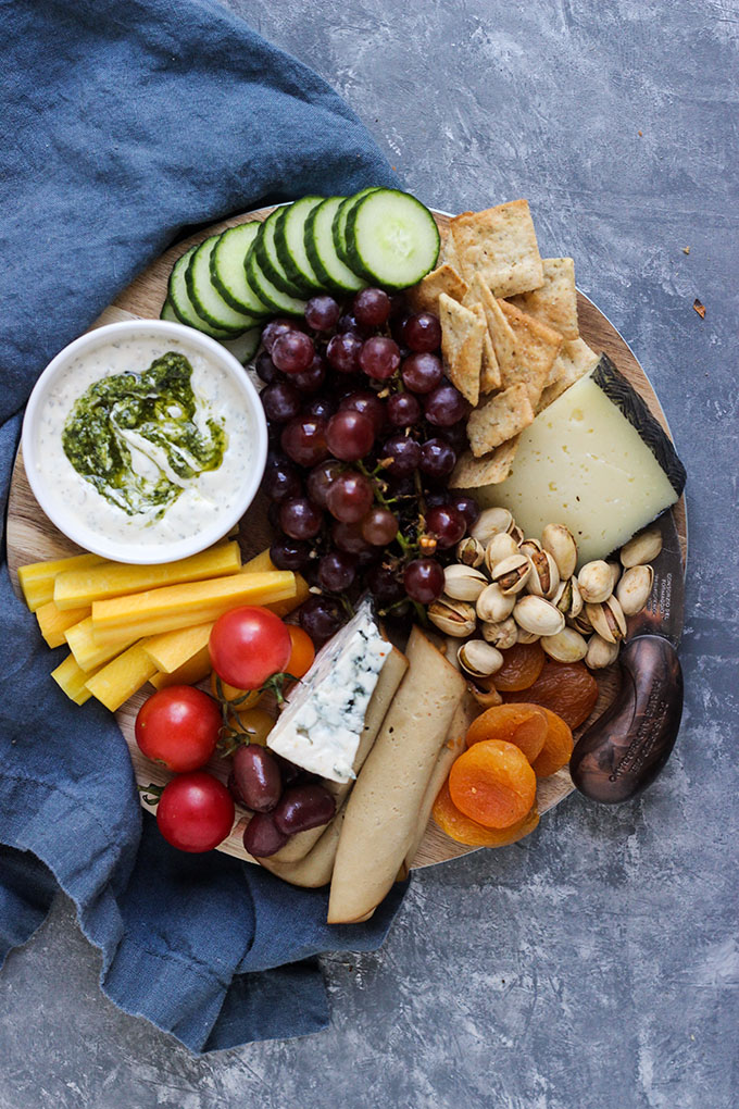 Vegetarian Cheese Board for Two | Perfect for a date night in!