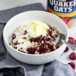 Chia Berry Oats | #ad A healthy breakfast you'll eat on repeat!