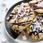 Vegan Peppermint Sugar Cookies   Simple to make and perfect for the holidays!