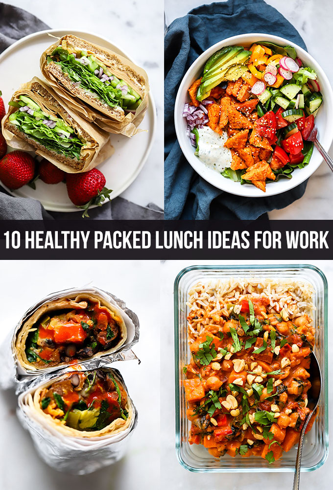 10 Healthy Packed Lunch Ideas for Work