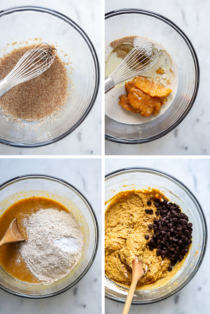 Pumpkin Muffin Process Photo