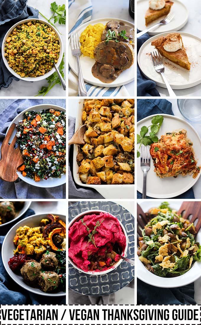Vegetarian Vegan Thanksgiving Guide
